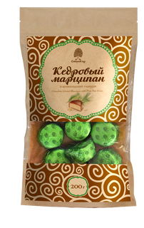 Cedar Marzipan Kraft Package 200 g