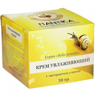 Moisturizing cream with snail extract