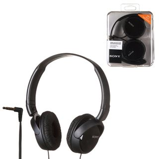 SONY / Headphones MDR-ZX110, wired, 1.2 m, stereo, oversized with headband, black