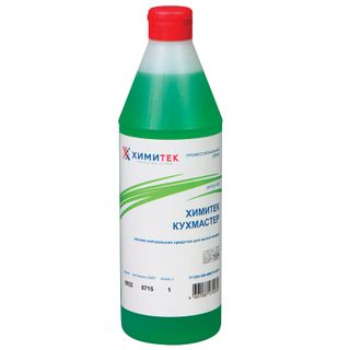 "Dishwashing liquid 1 l, KHIMITEK KUKHMASTER ""Yabloko"", neutral, concentrate"