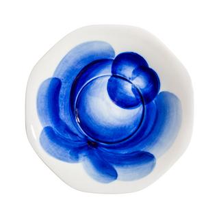 Saucer of Faceted rose, Gzhel Porcelain factory