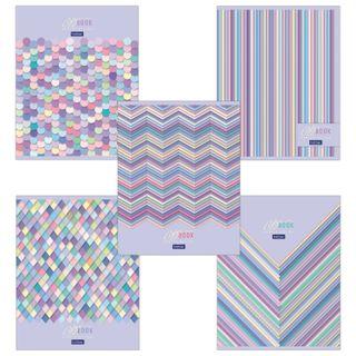 Notebook A5, 48 sheets, HATBER, staple, cage, 70 g/m, foil,