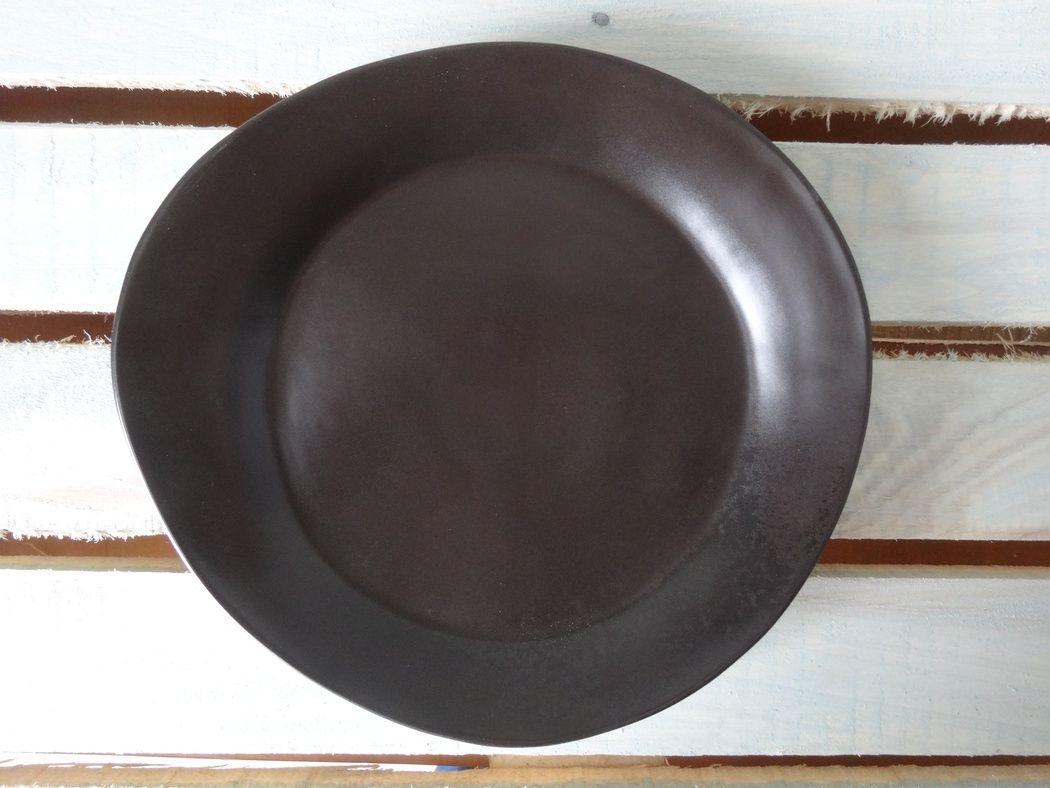 "Horex / Plate ""Carbone"" pietra media 5 pcs."