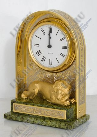 Watch with a lion