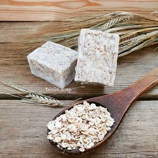 "Soap scrub ""Oatmeal"""