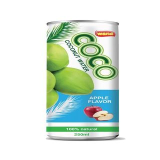 OEM Coconut Water Drink Manufacturer With Mango Flavor in Can 250ml
