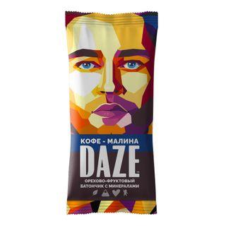 DAZE Coffee raspberry nut - fruit bars