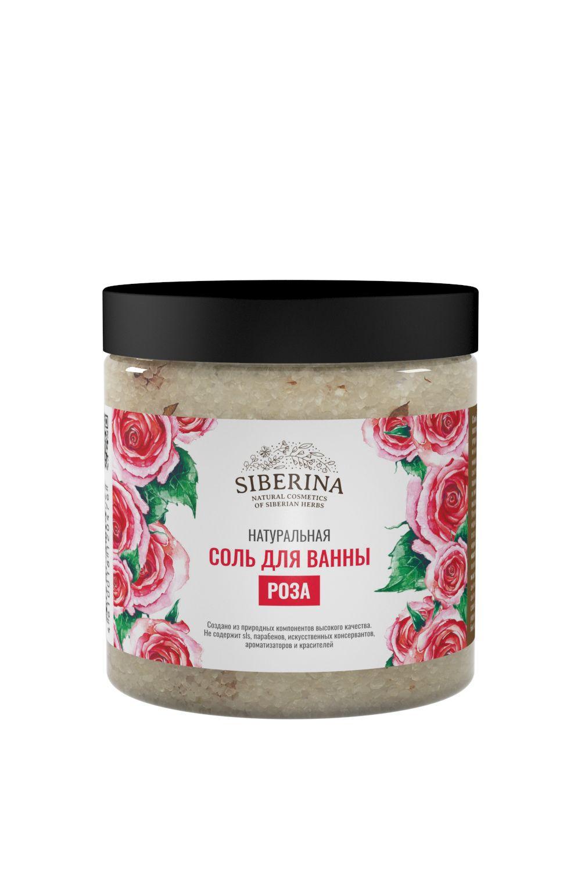 "Bath salt ""rose"" SIBERINA"