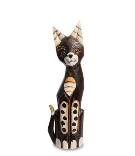"""Wooden statuette """"Cat"""" 40 cm"""