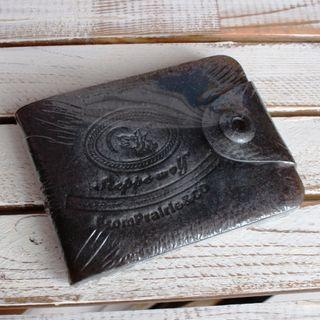 Purse wallet - men's handmade soap