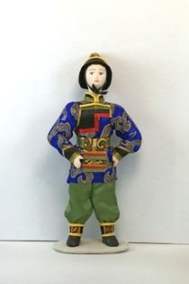 Doll gift. Boy. Buryatia.Styling.