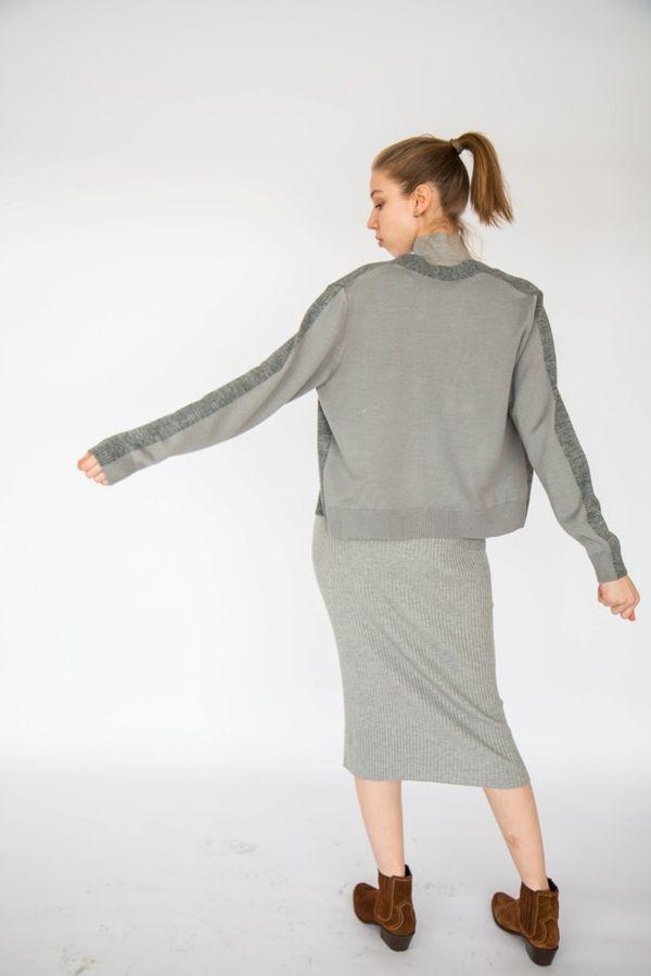 Zpuhzubity jacket women's grey/light grey, TRICARDO