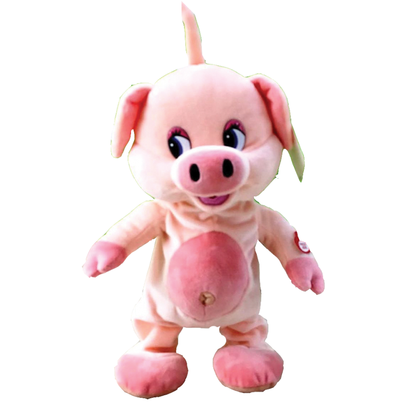 """New Year's gift Piglet """"Screech"""" interactive + set of sweets 300g."""
