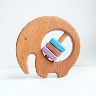 "Bug / Wooden rattle ""Elephant"""