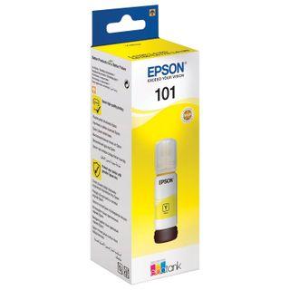 EPSON ink (T03V44), for CISS, L4150 / L4160 / L6160 / L6170 / L6190, yellow, 70 ml, ORIGINAL