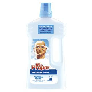 """Floor and wall cleaner MR. PROPER (Mister Proper) """"Gentle cleaning"""" 1 l"""