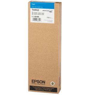 Inkjet cartridge for EPSON plotter (C13T694200) Epson SC-T3000 / 5000/7000 and others, blue, 700 ml, original