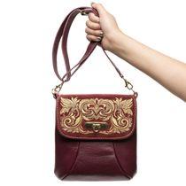Leather bag 'Isabel'
