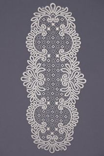 Carpet lace oval