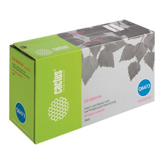 Magenta CACTUS Toner Cartridge (CS-Q6473A) for HP ColorLaserJet 3600N / 3600DN / 3800N, yield 4000 pages