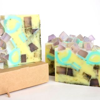 Lavender Pudding - Solid Shower Gel