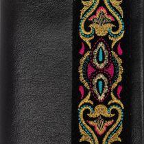 Passport cover leather handmade 'Rainbow mood'