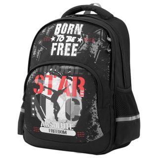 BRAUBERG SOFT backpack, 2 compartments, Freedom, GLOWING, 40х31х15 cm