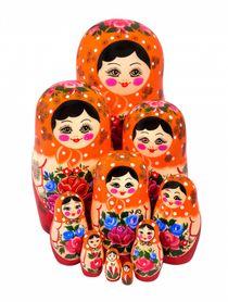 Матрёшка нетрадиционная 12 кукол