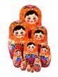 12 non-traditional matryoshka dolls - view 1
