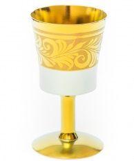 Glass on the leg of zirconium 'LILY'
