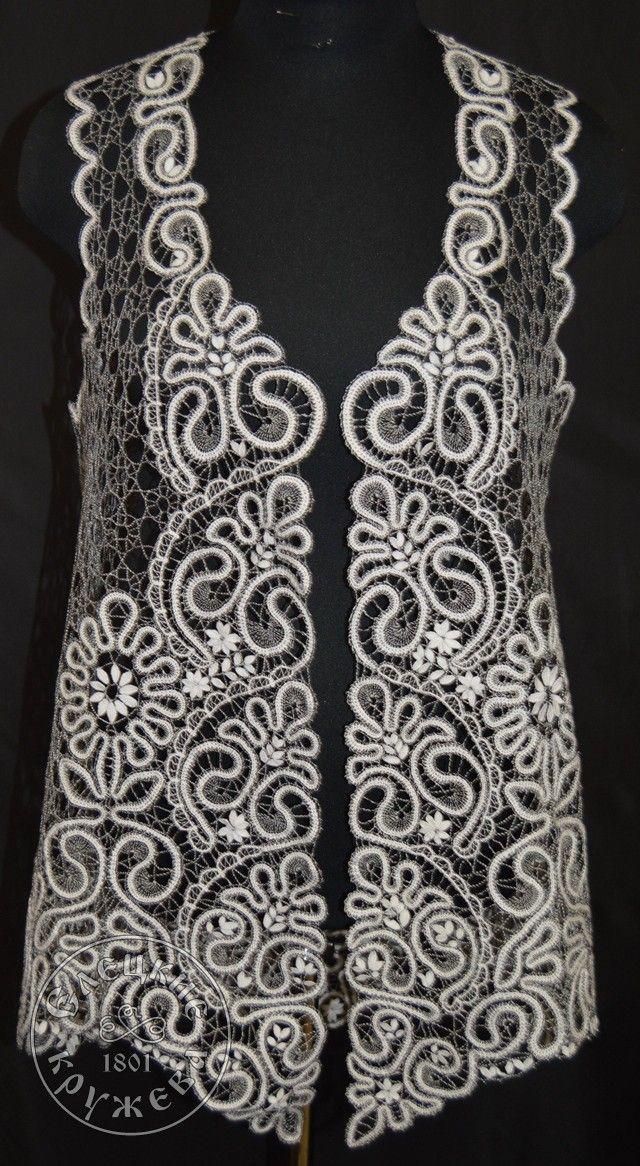 Yelets lace / Women's lace vest С644