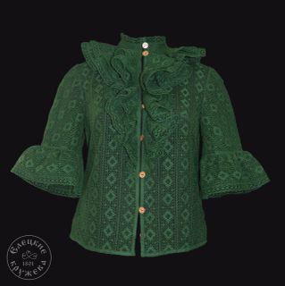 Women's chiffon blouse lace С2436