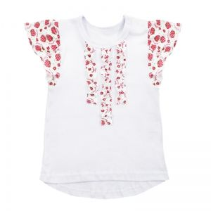 Blouse for girls cotton (interlock)