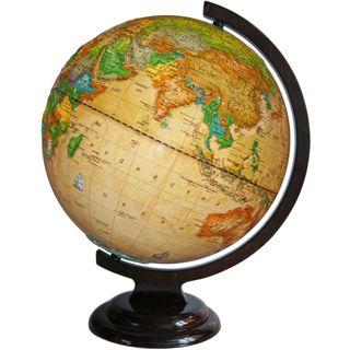 Political relief globe