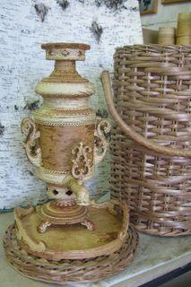 Gift set with souvenir samovar, capacity of 2 liters