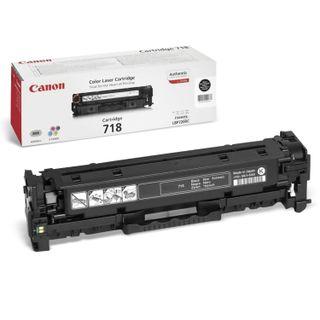 Laser cartridge CANON (718BK) LBP7200Cdn / MF8330Cdn / MF8350Cdn, black, yield 3400 pages, original