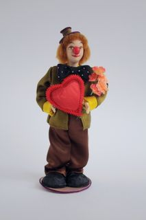 Clown. Doll gift