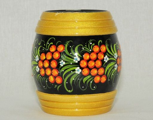 Vyatka souvenir / Painted barrel number 1