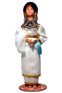 Doll gift. The Egyptian Princess. New Kingdom. The Egyptians.