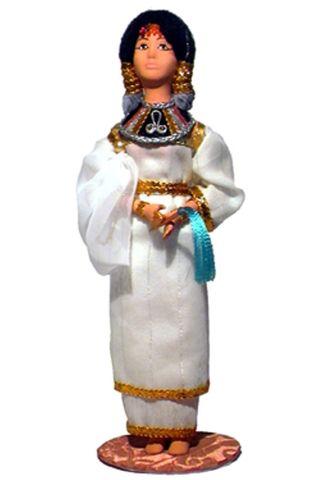 Doll gift. The Egyptian Princess. New Kingdom. The Egyptians.
