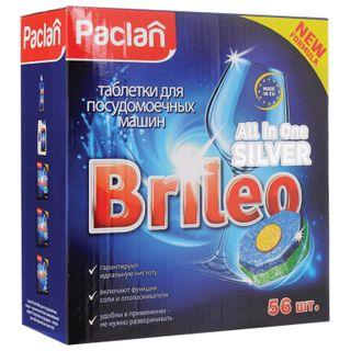 Dishwashing tablets in dishwashers 56 pieces, PACLAN Brileo