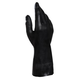 MAPA / Gloves latex-neoprene Technic / UltraNeo 401, cotton dusting, size 9 (L), black