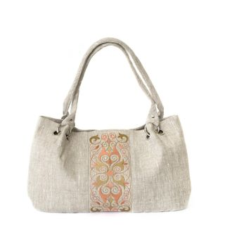 """Linen bag """"Violet"""""""