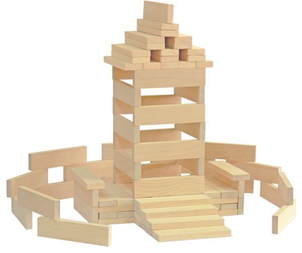 Building blocks - Krasnokamsk toy
