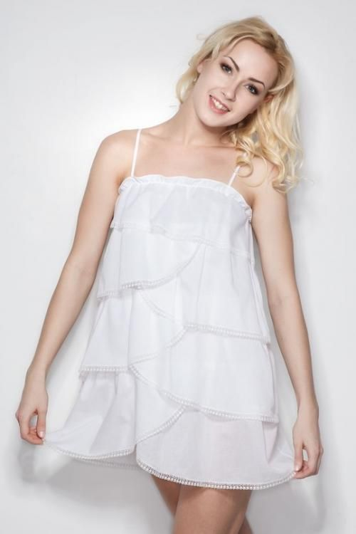 "Chemise nightwear women's ""Sweet fantasy"" layered"