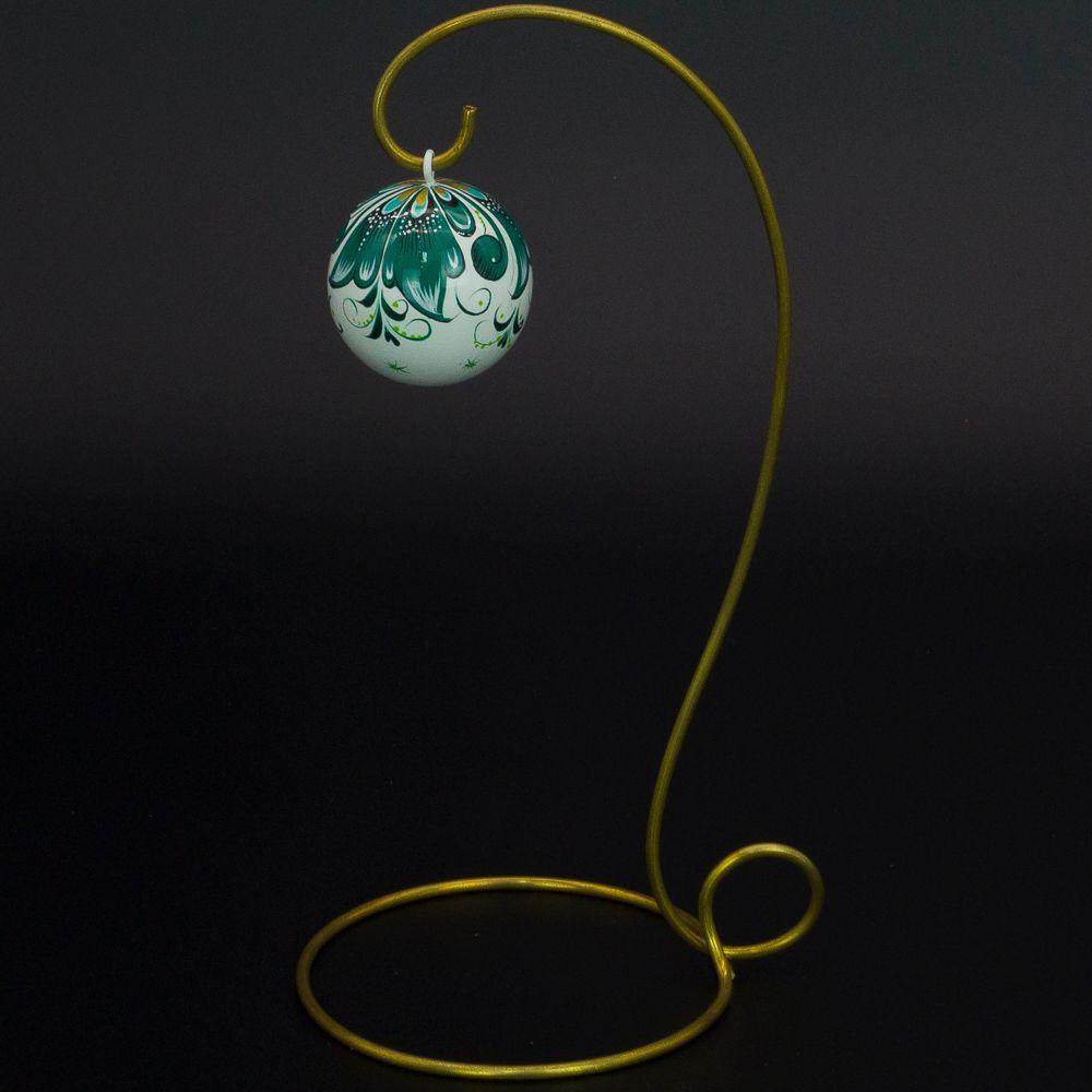 Fishing / Christmas tree wooden ball, 45 mm