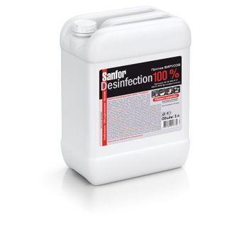 Disinfectant detergent universal 5 l SANFOR Desinfection, chlorine 15%