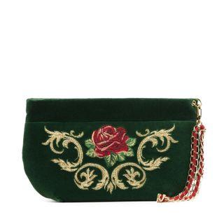 """Velvet bag """"Dolce Rose"""""""