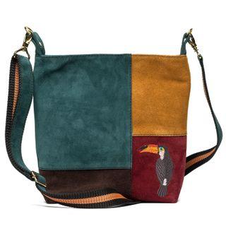 Suede Tropicana bag