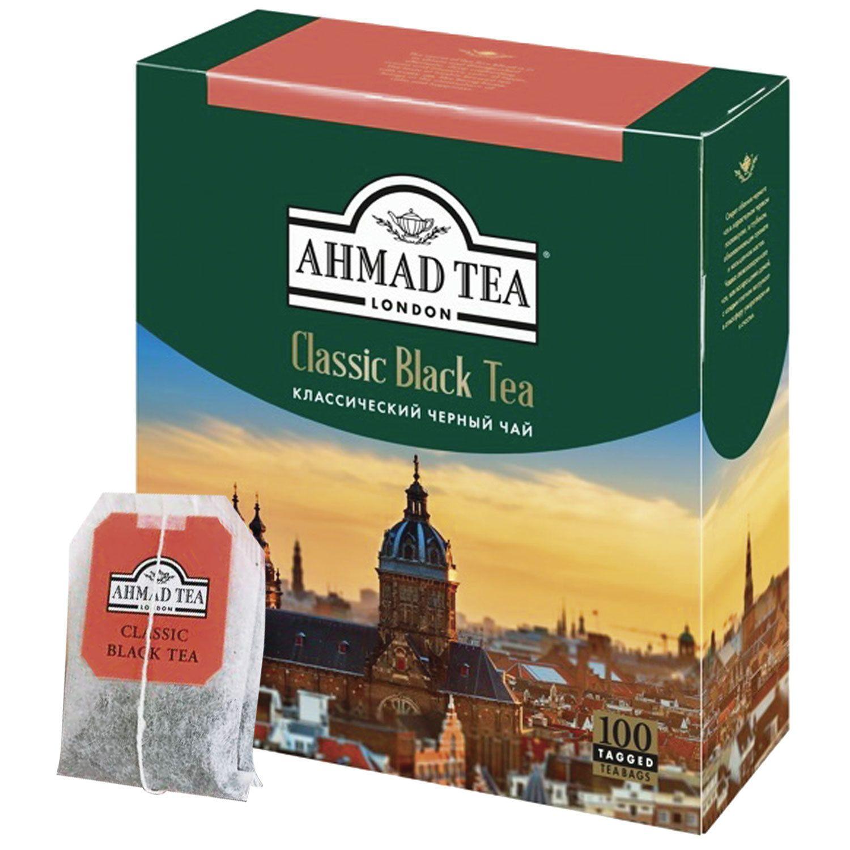 AHMAD / Classic Black Tea, 100 sachets with 2 g tags